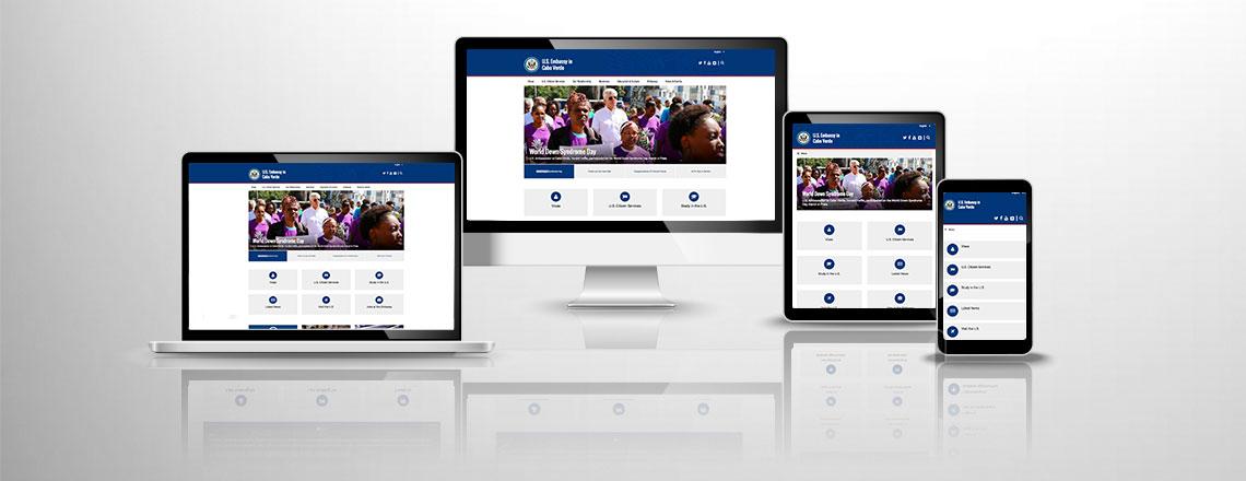 Visite o nosso novo site!